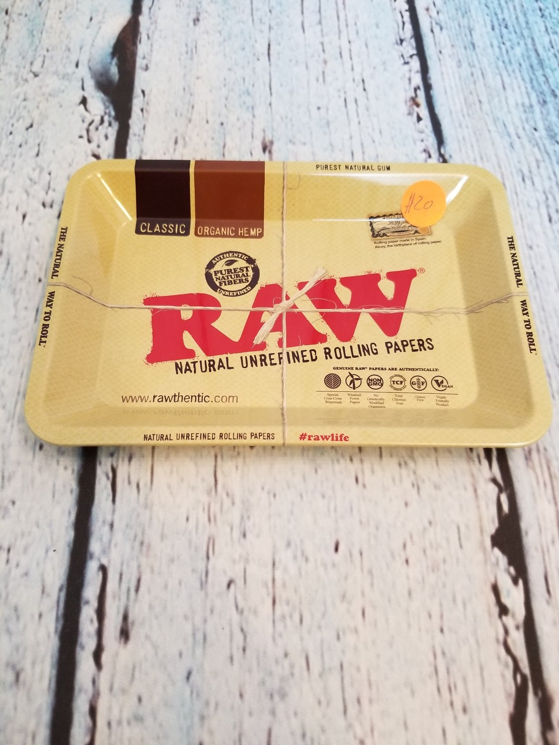 Raw Rolling Tray Small