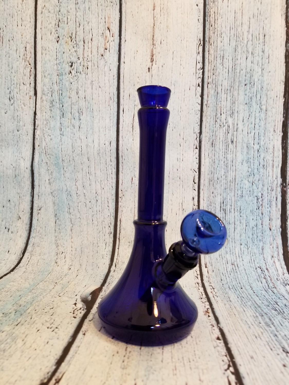WATERPIPE BLUE VASE