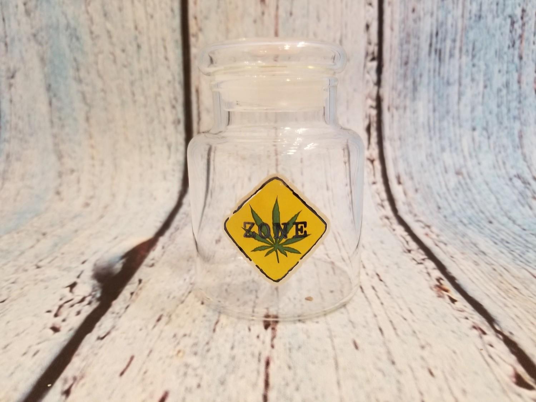Medium Glass Stash Jar