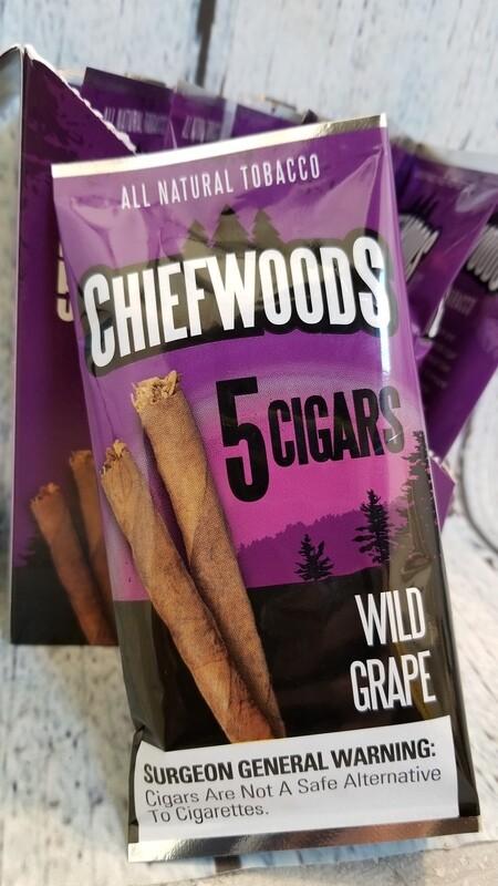 Chiefwoods wild grape 5 pack