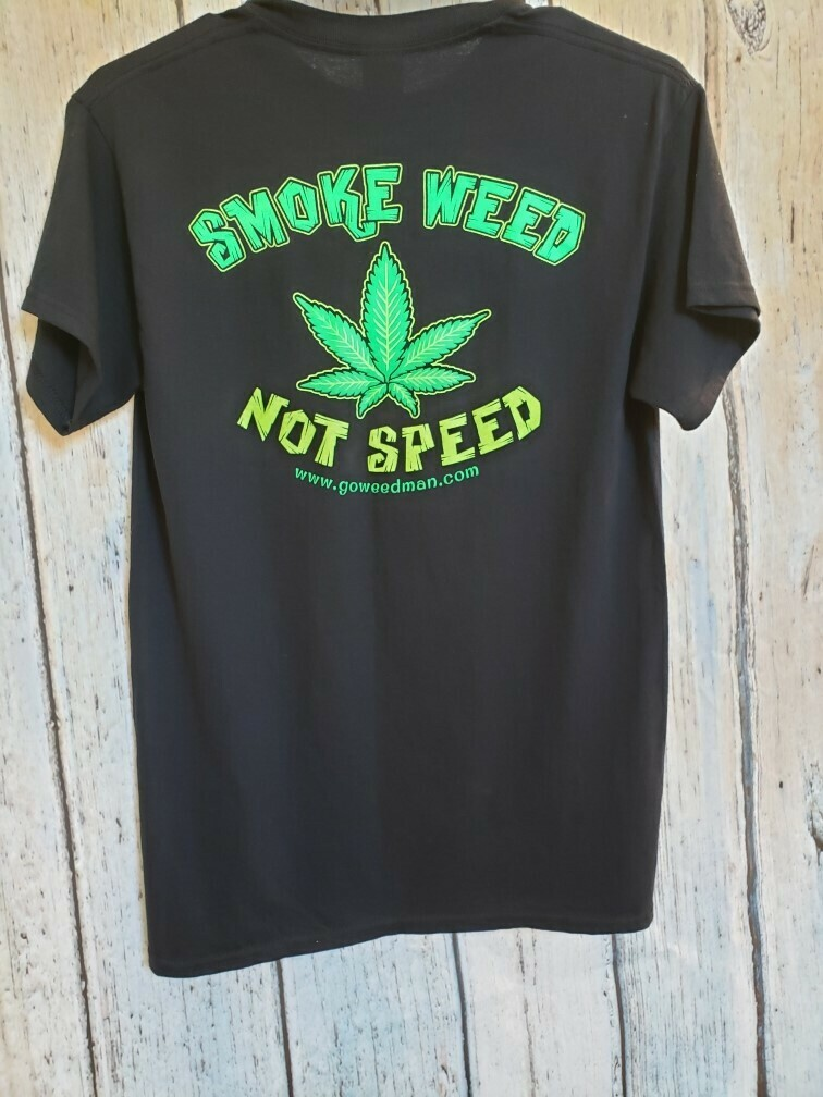 WEEDMAN SHIRT BLACK