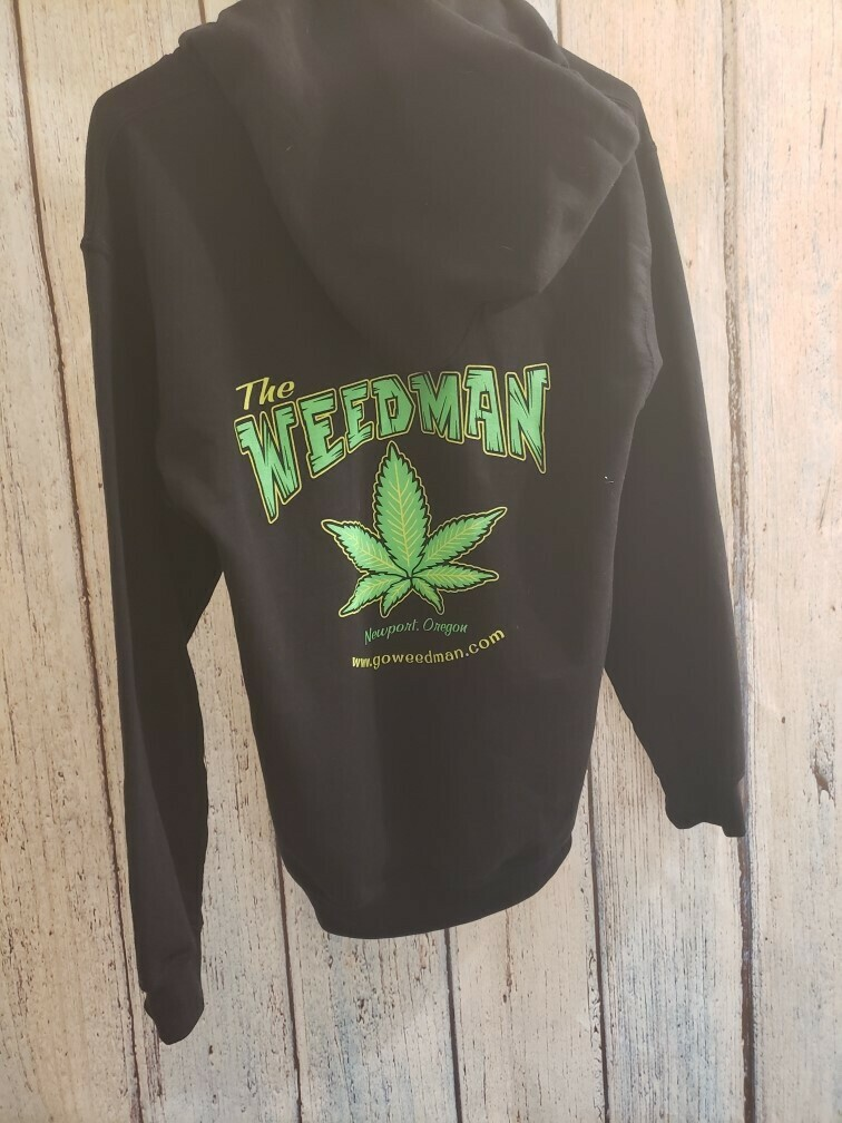 WEEDMAN SWEATER BLACK