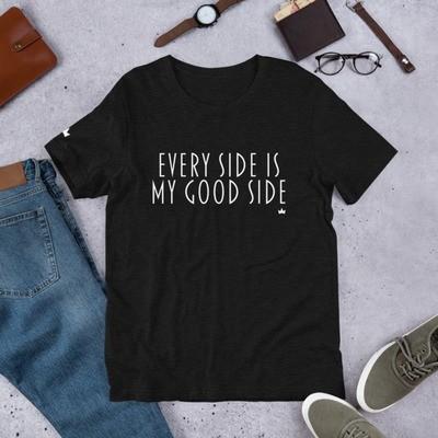 """Good Side"" Short-Sleeve Unisex T-Shirt"