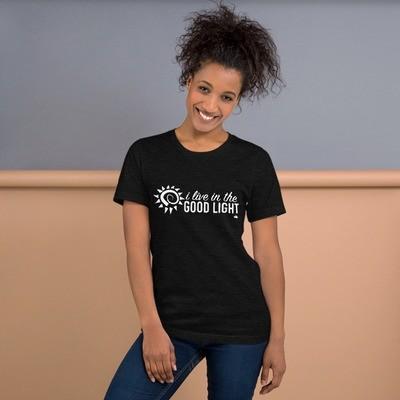 """Good Light"" Short-Sleeve Unisex T-Shirt"