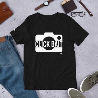 """Click Bait"" Short-Sleeve Unisex T-Shirt"