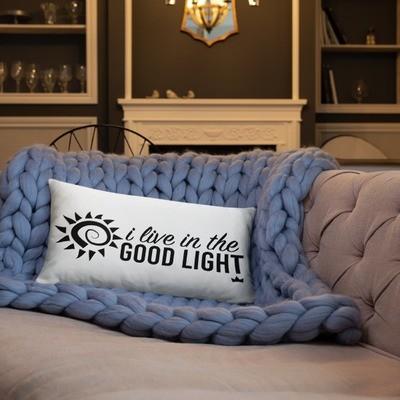 """""""Good Light"""" Pillow"""