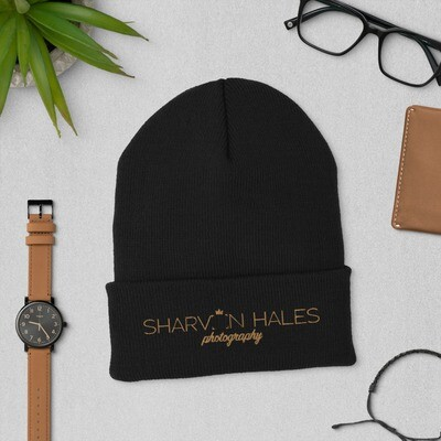 SHP Embroidered Cuffed Beanie