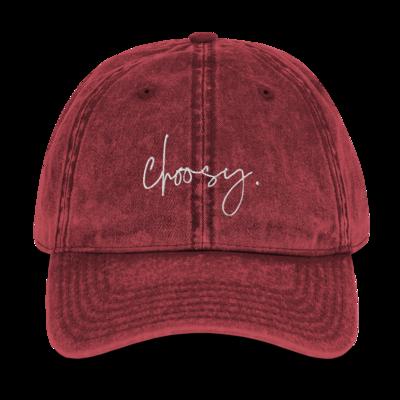 Choosy Vintage Cotton Dad Hat