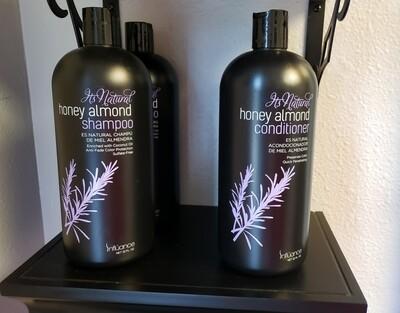 Honey Almond Moisturizing Shampoo/ Conditioner