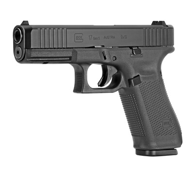 Glock, 17 Gen5 Full Size, 9MM, 4.49