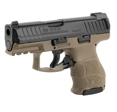 HK VP9SK Semi-automatic, 9MM, 3.39