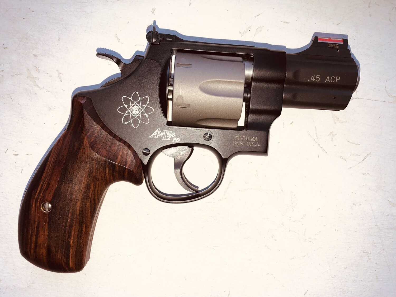 Smith & Wesson .45 ACP Revolver