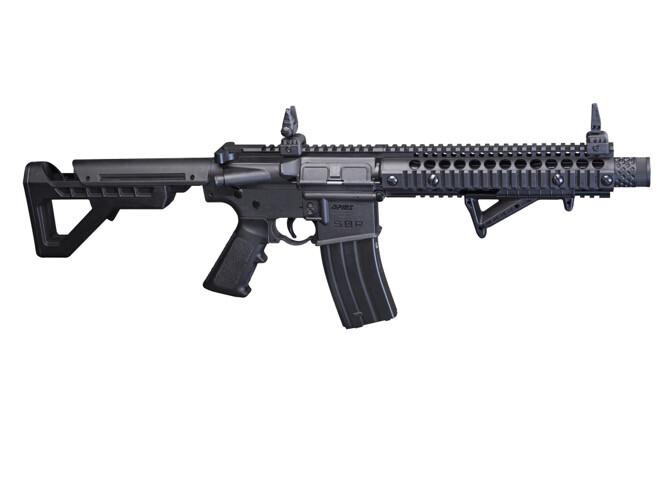 Crosman, DPMS SBR Full Auto BB Rifle, 430 Feet Per Second
