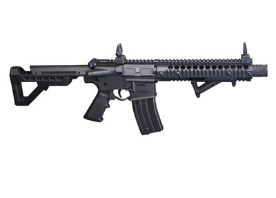 Crosman, DPMS SBR Full Auto BB Rifle, 430 Feet Per Second