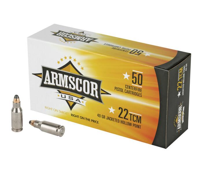 Armscor, 22TCM, 40 Grain 50 Rounds