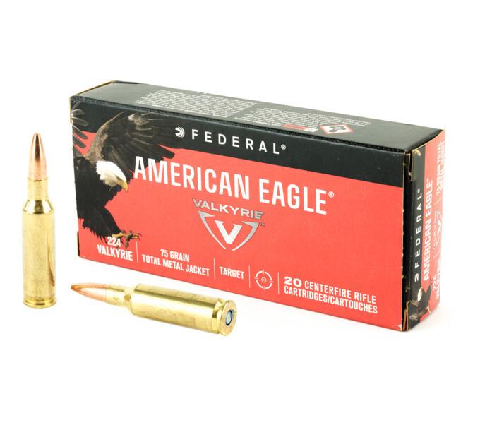 Federal American Eagle 224 Valkyrie 75 Grain