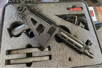 MP5 PTR 9C with brace NIB