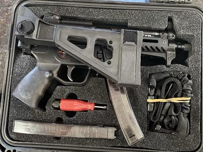 MP5K 9KT PTR 603 with BRACE NIB