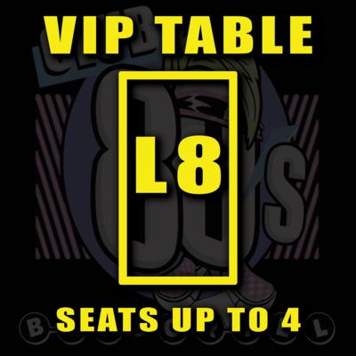 VIP TABLE L8