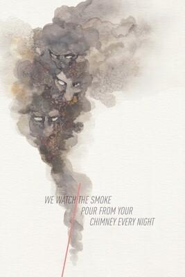 Smoke—Forgiveness Postcard Series