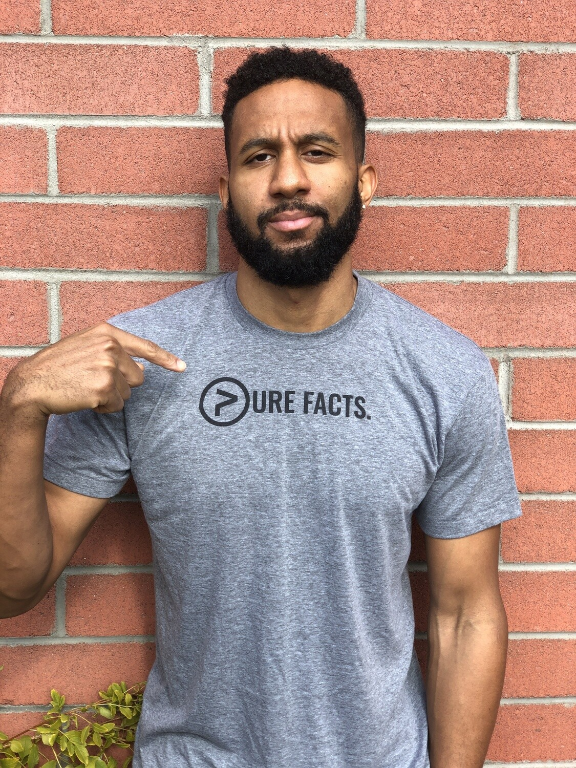 Pure Facts Tri-Blend Tee - (Unisex)