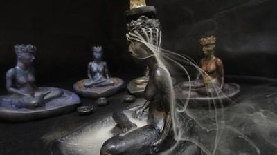 Goddess Backflow Incense Fountain