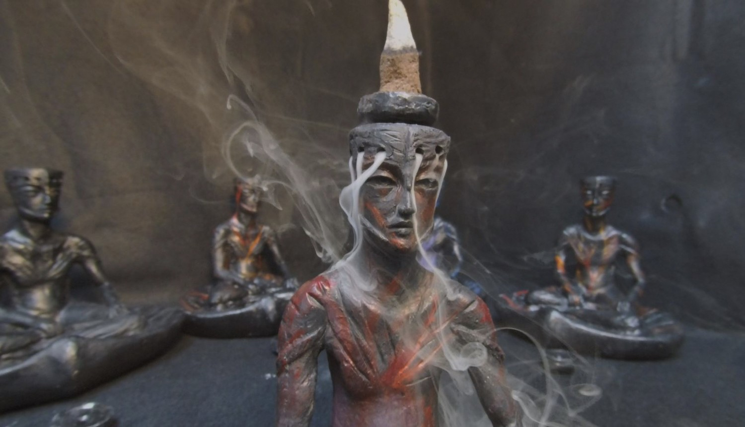 Thinker: Backflow Incense Fountain