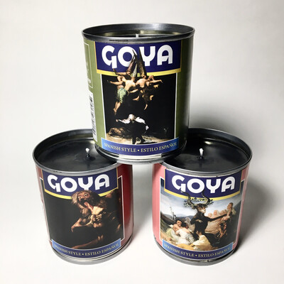 3-piece Goya Candle Set