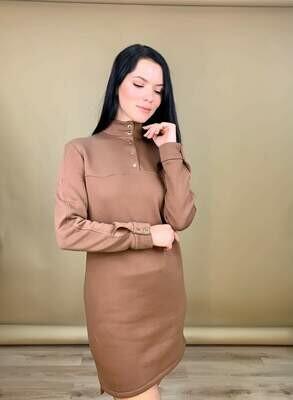 """Платье """"Тина"""" Кофе"""