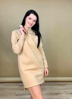 """Платье """"Тина"""" Беж"""