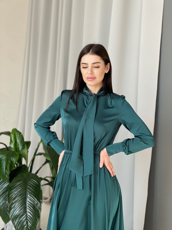 """Платье """"Жаклин"""" Изумруд"""