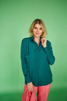 """Рубашка """"Софт"""" Зеленый"""