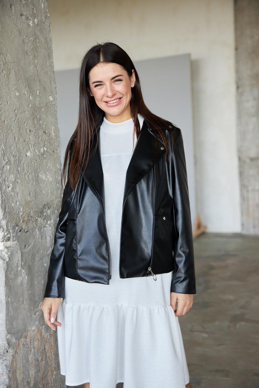 """Куртка """"Леди"""" Черный"""