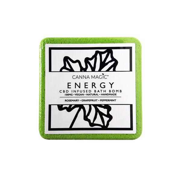 Canna Magic Handmade Bath Bomb - Energy