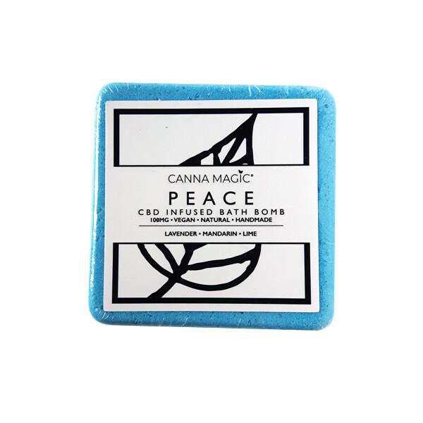 Canna Magic Handmade Bath Bomb - Peace