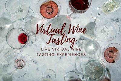9/12 - Virtual Tasting with Laurence Vuelta of Trinchero Family Estates - WINE CLUB MEMBERS