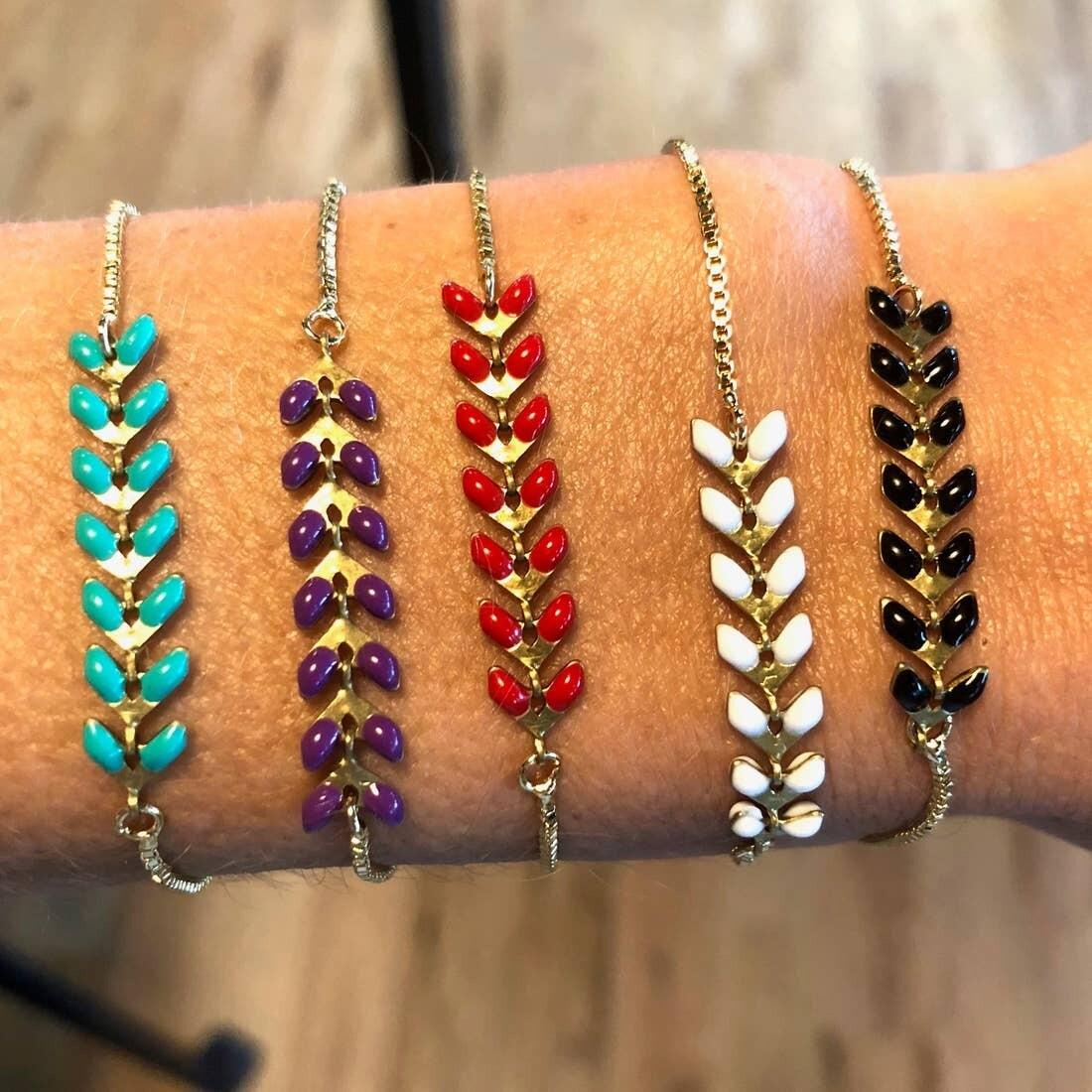 V-Link Slider Bracelets