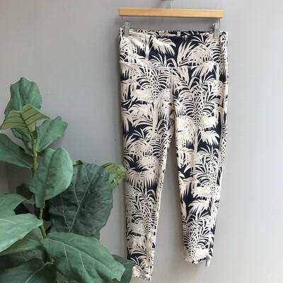 Highwaist Coconut and Palm Trees Print Leggings