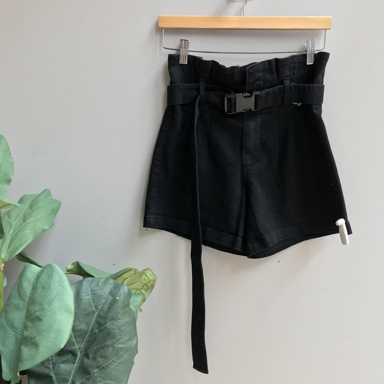 Paper Bag Shorts & Self Belt