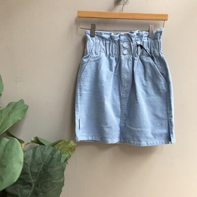 Paperbag Corduroy Skirt