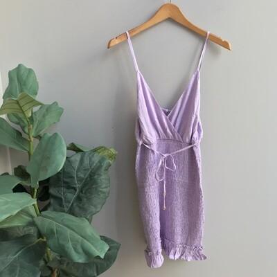 Taylor Solid Smocked Dress