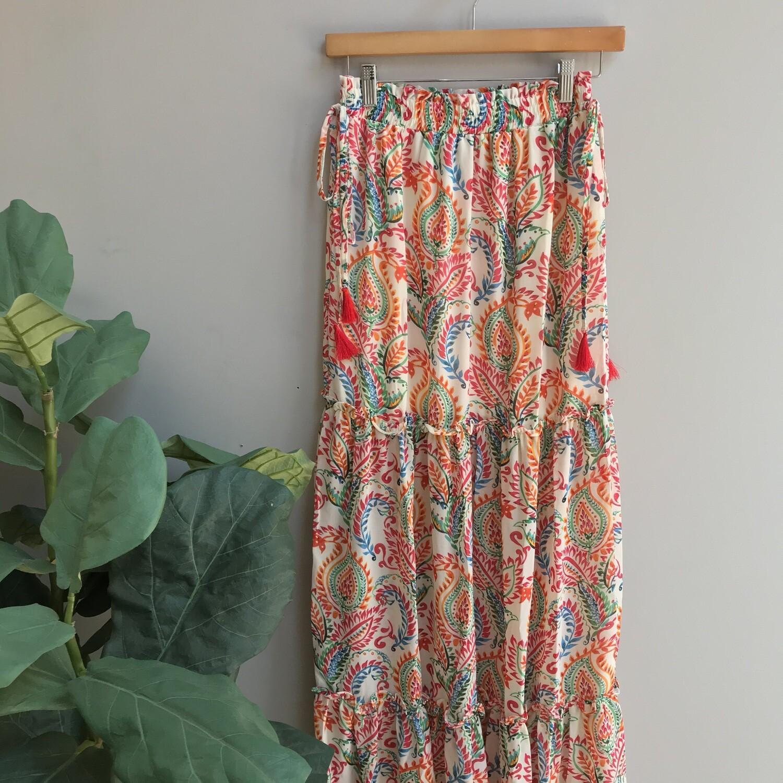 Julia Paisley Tropical Skirt