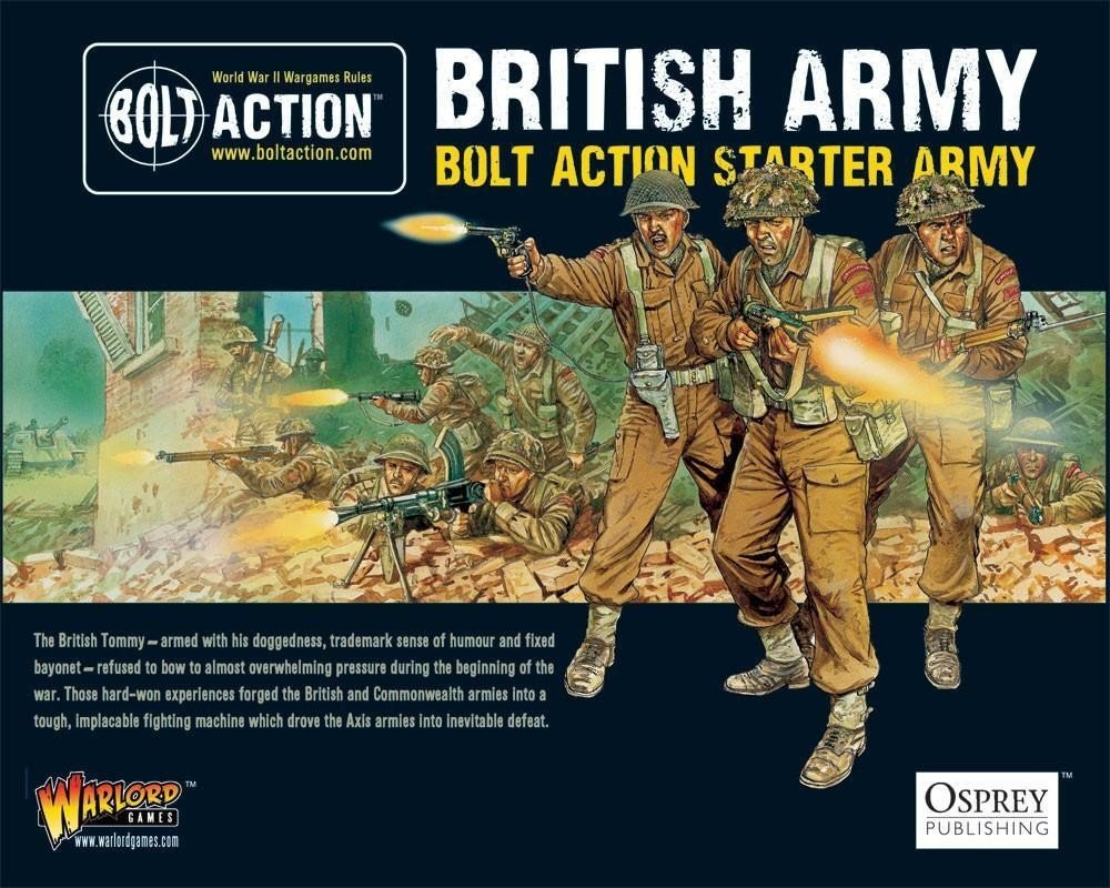 British Army Bolt Action Starter Army