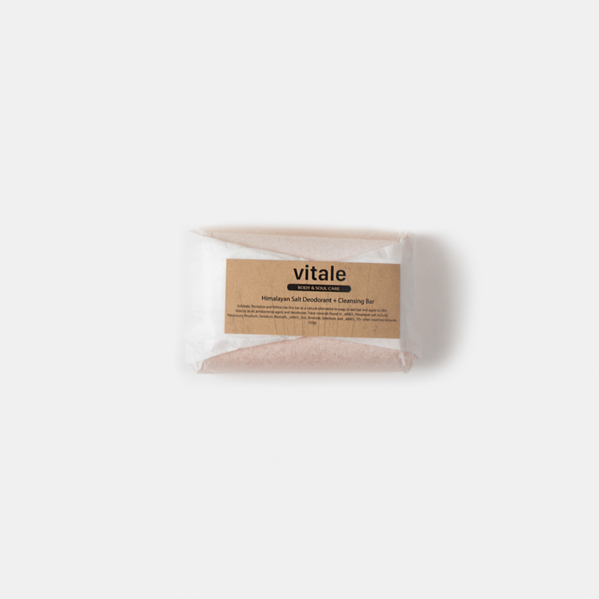 Himalayan Salt Deodorant + Cleansing Bar