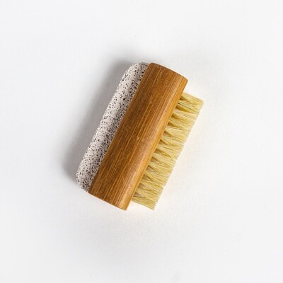Tampico Nail Brush with Natural Pumice