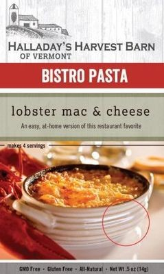 Halladay's Harvest Barn Bistro Pasta Lobster Mac & Cheese