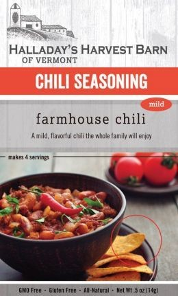 Halladay's Harvest Barn Chili Seasoning Mild