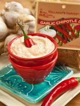 Halladay's Harvest Barn Garlic Chipotle Dip & Cooking Blend