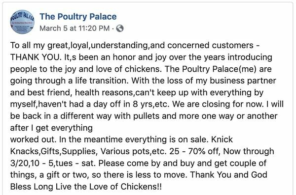 The Poultry Palace