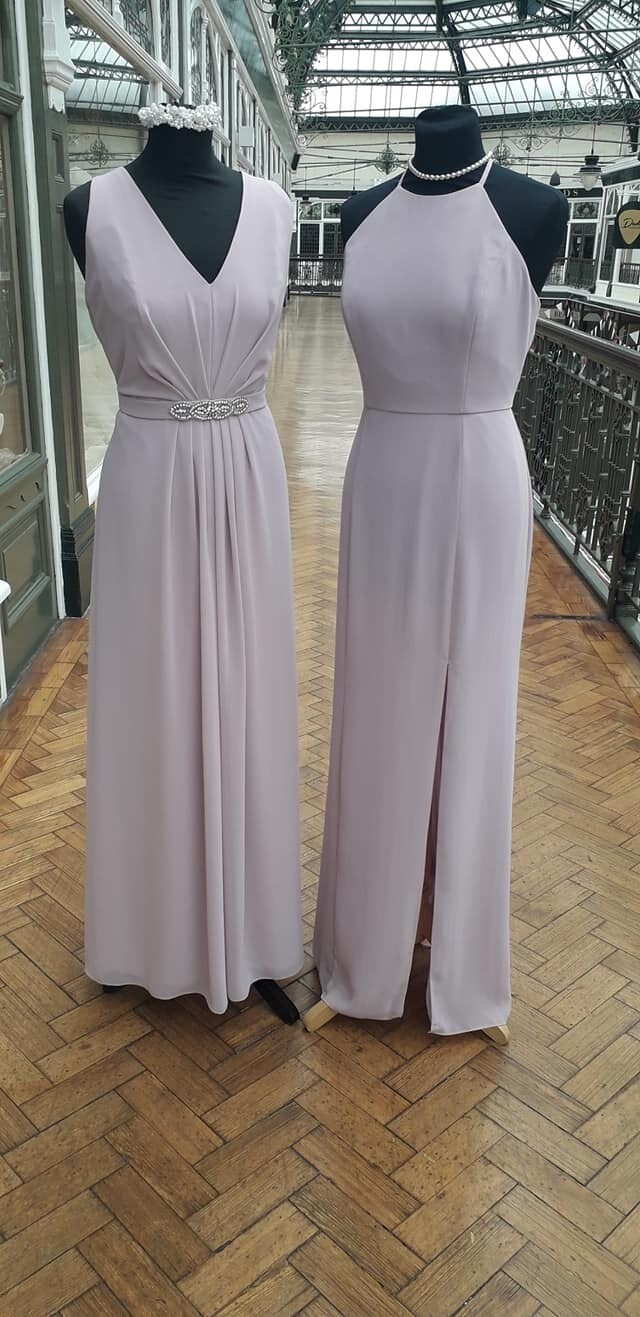 Bridesmaids Dresses in Dusky Rose
